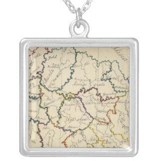 Bohemia, Moravia, Austrian Silesia Silver Plated Necklace