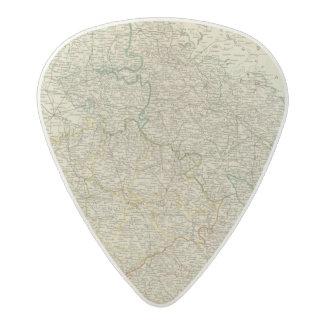 Bohemia, Silesia, Moravia, Lusatia Acetal Guitar Pick