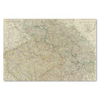 Bohemia, Silesia, Moravia, Lusatia Tissue Paper