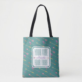 Bohemian Arrow Pattern Your Vibe | Tote