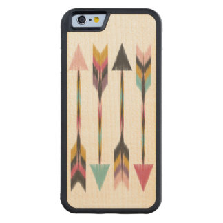 Bohemian Arrows Maple Wood iPhone 6 Case
