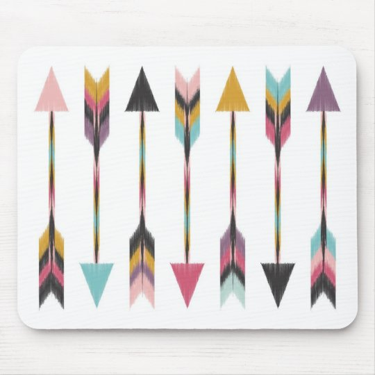 Bohemian Arrows Mouse Pad