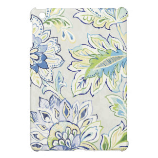 Bohemian Blue Flower iPad Mini Cases