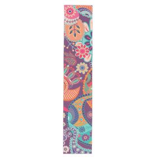 Bohemian Boho MOD Hippy Chic Flower Pattern