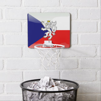 Bohemian Coat of arms Mini Basketball Hoop