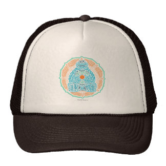 Bohemian Cookie Monster Hat