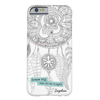 Bohemian DreamCatcher Hipster Doodle Pattern Barely There iPhone 6 Case