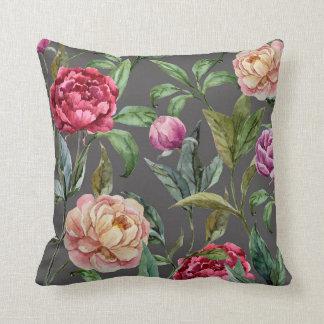 Bohemian Floral Cushion Throw Pillow