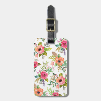 Bohemian Floral | Luggage Tag