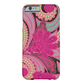 Bohemian Floral Paisley Barely There iPhone 6 Case