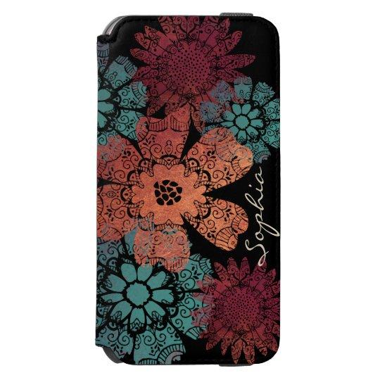 Bohemian Floral Paisley Trendy Doodle Pattern Incipio Watson™