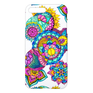 Bohemian floral watercolor mandala hand drawn iPhone 8 plus/7 plus case