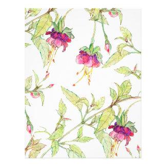 Bohemian Garden | Floral DIY Envelopes Liner 21.5 Cm X 28 Cm Flyer
