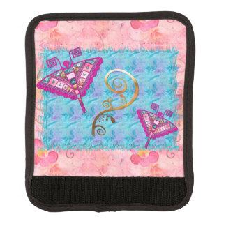 Bohemian Gypsy Folk Art Luggage Handle Wrap