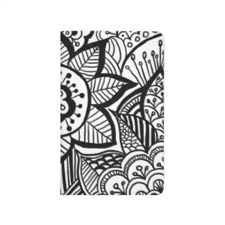 Bohemian Hand Drawn Doodle Girly Journal