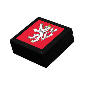 Bohemian heraldic lion gift box