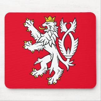 Bohemian heraldic lion mouse mat