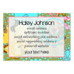 Bohemian One Social/Business Cards Pack Of Chubby Business Cards