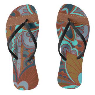 Bohemian Pattern, Flip Flops