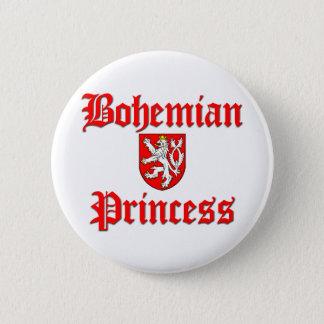 Bohemian Princess 6 Cm Round Badge