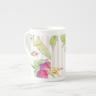 Bohemian Rose Garden | Floral Bone China Mug