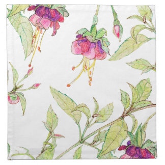 Bohemian Rose Garden | Floral Cloth Napkins