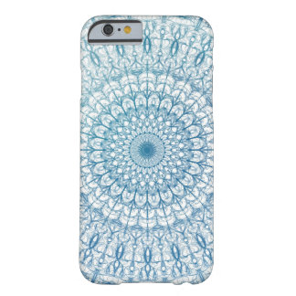 Bohemian Sky and Turquoise Blue Fractal Design Barely There iPhone 6 Case