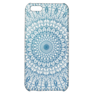 Bohemian Sky and Turquoise Blue Fractal Design Case For iPhone 5C