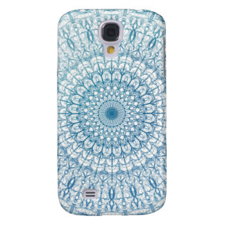 Bohemian Sky and Turquoise Blue Fractal Design Galaxy S4 Case