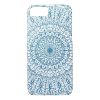 Bohemian Sky and Turquoise Blue Fractal Design iPhone 8/7 Case