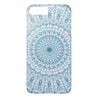 Bohemian Sky and Turquoise Blue Fractal Design iPhone 8 Plus/7 Plus Case