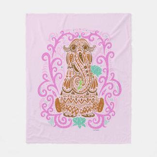Bohemian Snuffleupagus Fleece Blanket