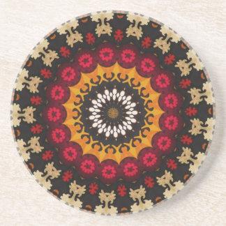 Bohemian Southwest Tribal Aztec pattern Coaster