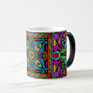 Bohemian Stained Glass Style Magic Mug