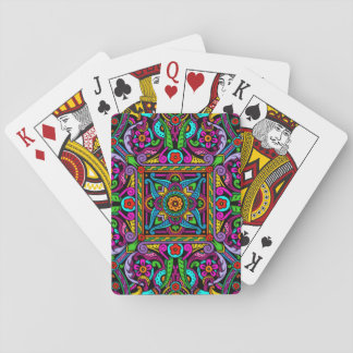 Bohemian Stained Glass Style Playing Cards