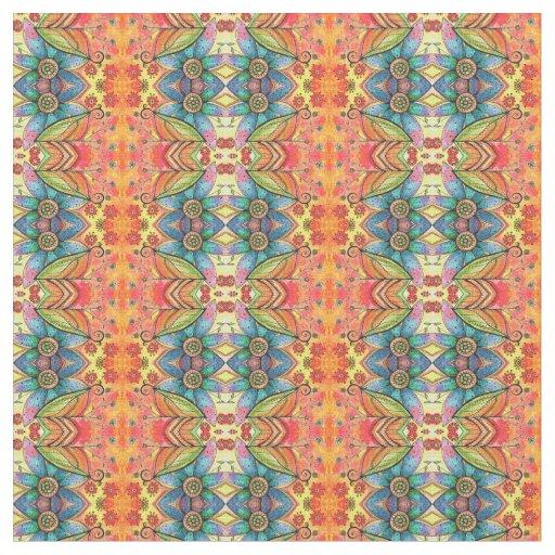 Bohemian Style Fabric