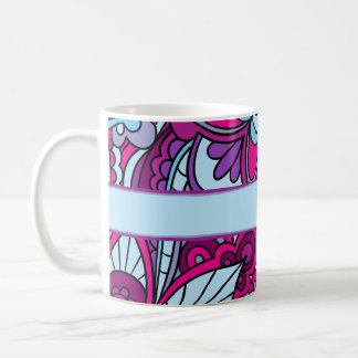 Bohemian, Vivid Blue and Purple Mug