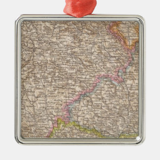 Bohmen, Mahren Atlas Map Christmas Ornament