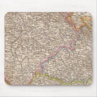 Bohmen, Mahren Atlas Map Mouse Mat
