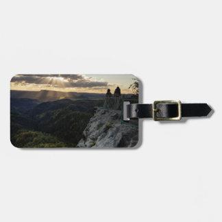 Böhmische Schweiz scenic view photo Luggage Tag