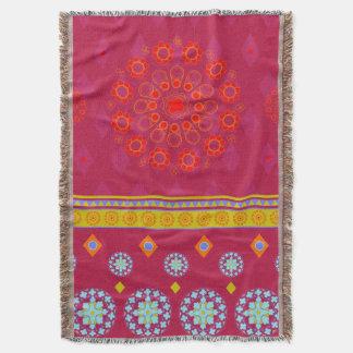 BOHO1 Mandala - Throw Blanket