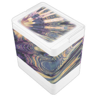 Boho Abstract Igloo Cooler