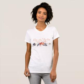Boho Arrow Bride Tribe Shirt