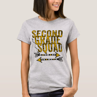 Boho Arrows 2nd Grade Squad Personalized T-shirt