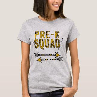 Boho Arrows Pre-K Squad Personalized T-shirt