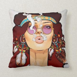 Boho Art Pillow