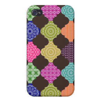 Boho Bazaar Magic Carpet Mosaic Case For iPhone 4