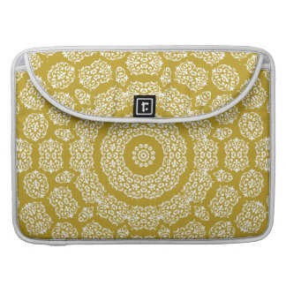 Boho Bazaar Mosaic Gold Pattern Sleeve For MacBook Pro