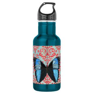 Boho Blue Butterfly Liberty Bottle 532 Ml Water Bottle