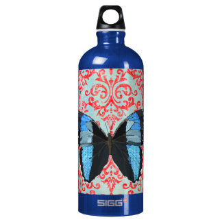 Boho Blue Butterfly Liberty Bottle SIGG Traveller 1.0L Water Bottle
